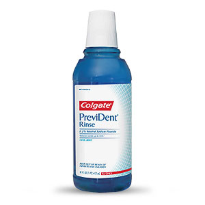 Colgate PreviDent Dental Rinse - Cool Mint - 16 fl oz