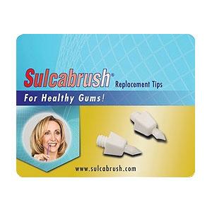 Sulcabrush Replacement Tips - 2pk